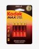 Bateria Kodak MAX AAA-4  R3x4szt.