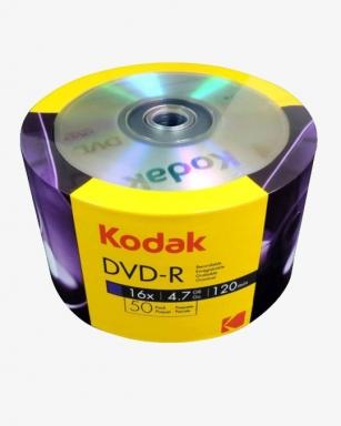 Płyta Kodak DVD-R 16x4,7GB 50szt