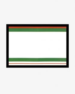 Etui na zdjęcia do dokumentów - Zielone Paski